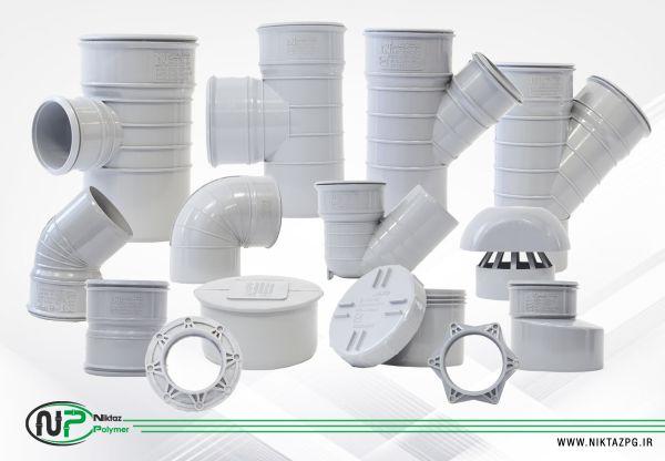 تصویر و عکس لوله و اتصالات U-PVC ساخته شده توسط شرکت نیکتاز پلیمر آذین را مشاهده می کنید.