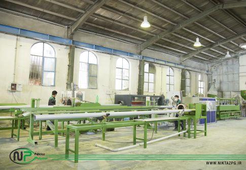 شرکت نیکتاز پلیمر آذین و خط تولید لوله پلیکا چیست